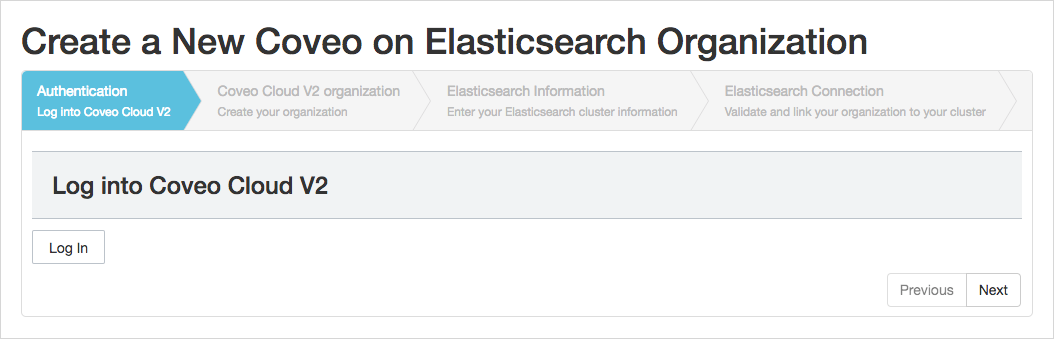 Getting started with Coveo on Elasticsearch Using the