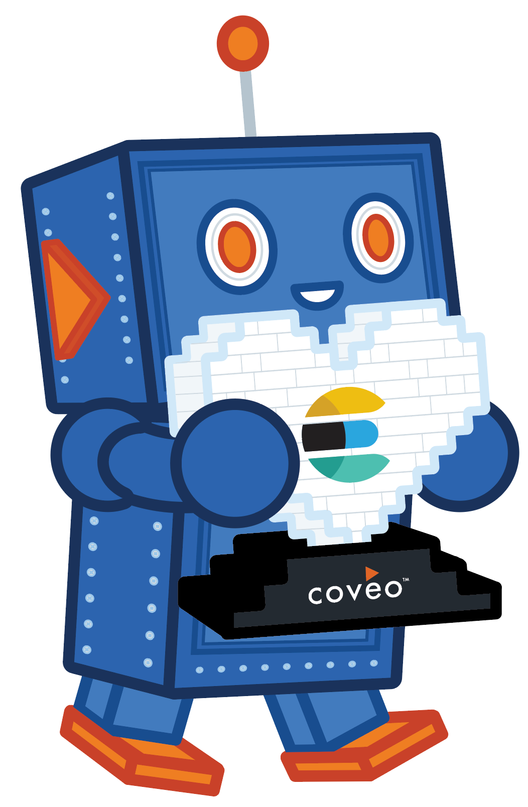 Coveo on Elasticsearch robot