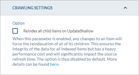 Reindex all child items on UpdateShallow option