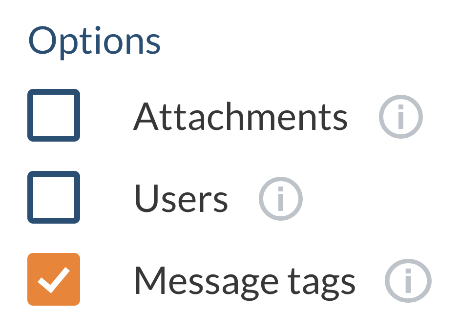 Message-Tags-Checkbox
